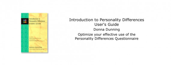 Introduction to Personality Differences User's Guide