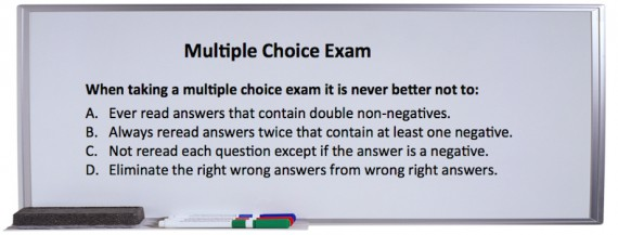 Tips for Writing Multiple Choice Exams - Dunning Personality